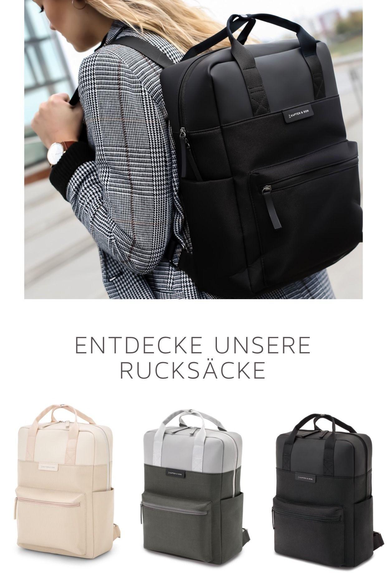 Entdecke Unsere Neuen Rucksacke Kapten Son Rucksack Schule