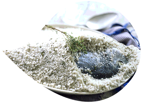 Sea bream in salt crust #healthy #recipes #seasalt #allnatural #gourmet #salt #cooking