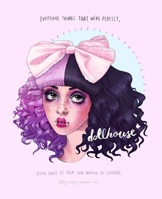 Melanie Martinez Dollhouse Fanart Melanie X Marina X Halsey X