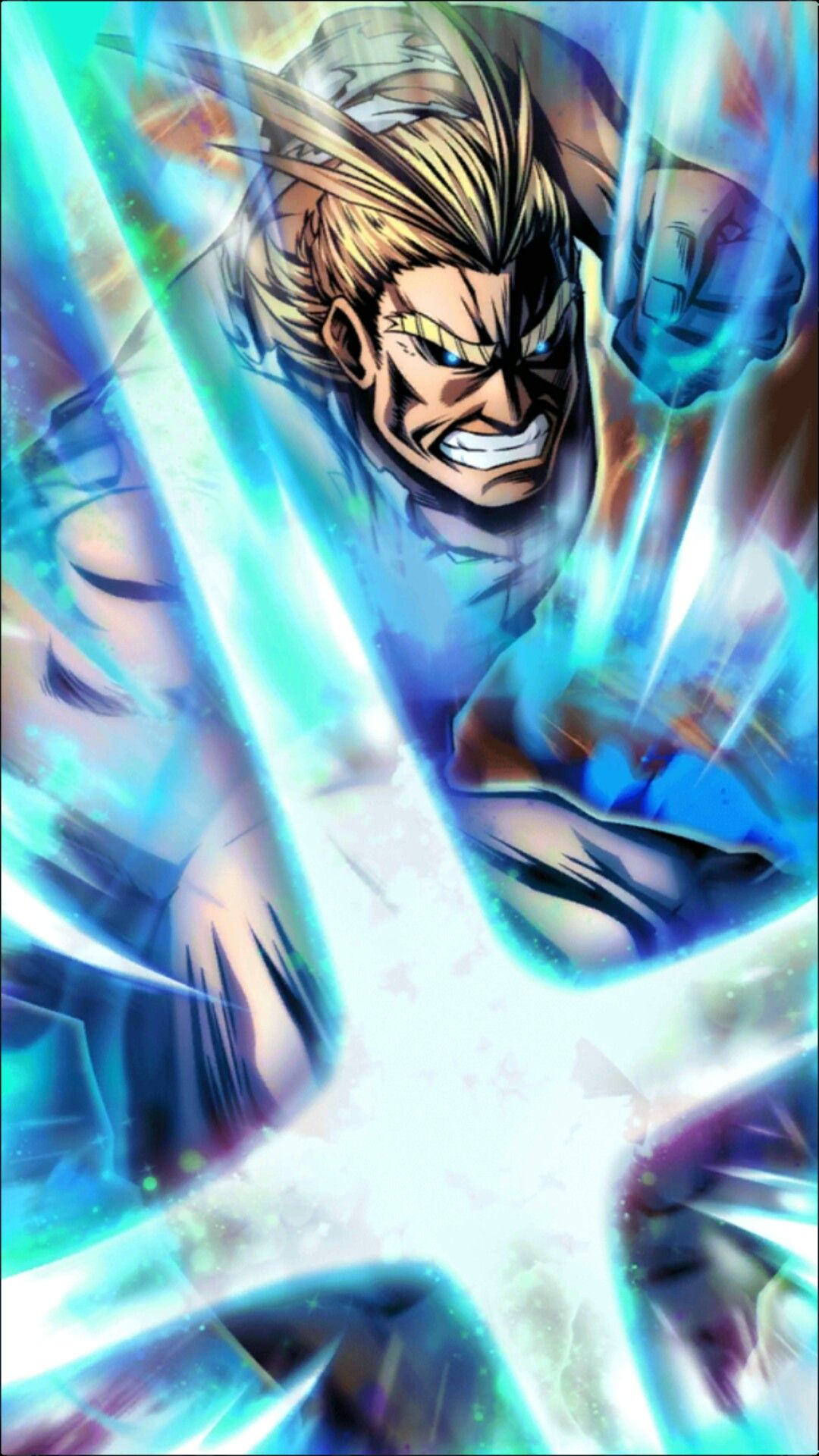 One For All All Might 100 Plus Ultra Hero Wallpaper