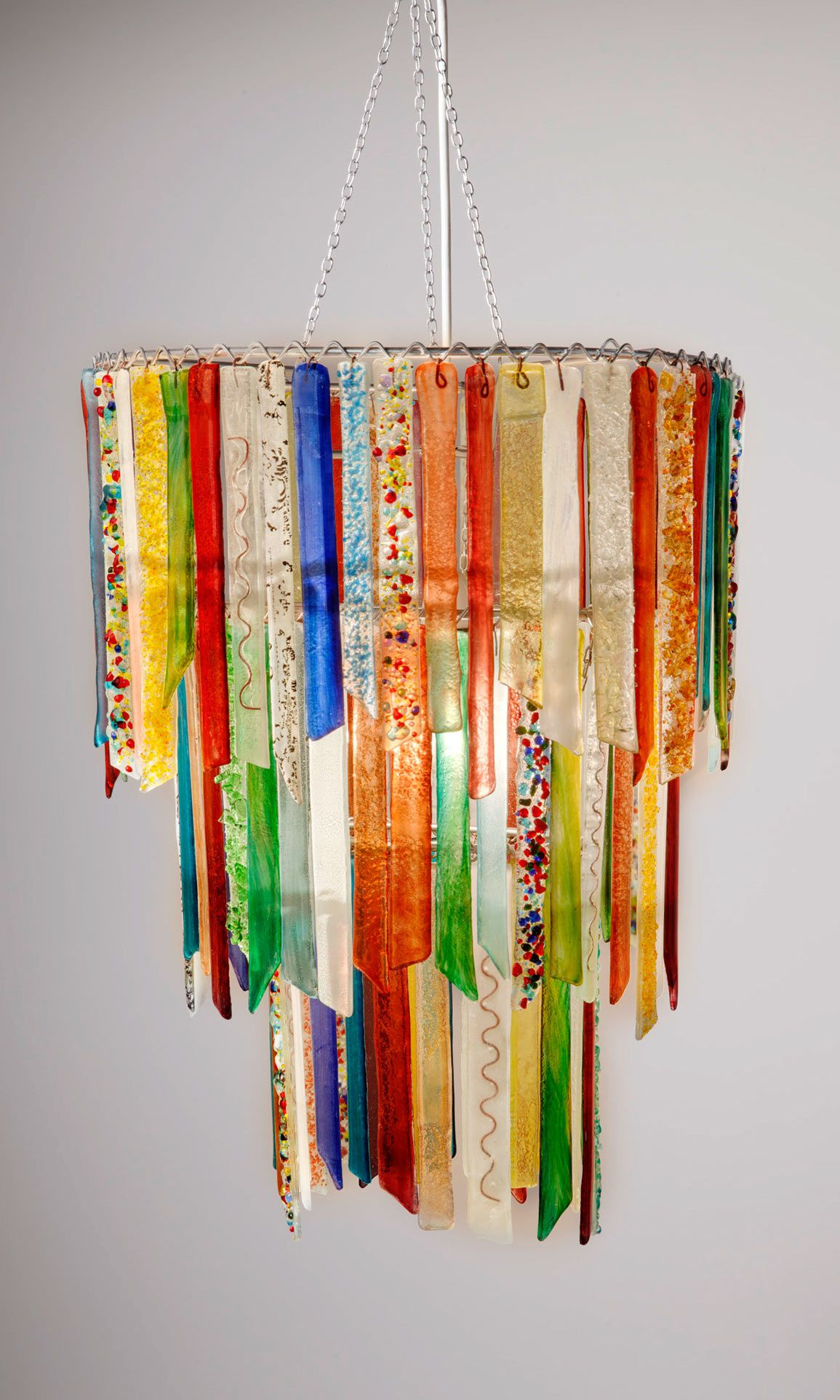 Hand made recycled glass chandeliers fused glass inspirations hand made recycled glass chandeliers arubaitofo Image collections