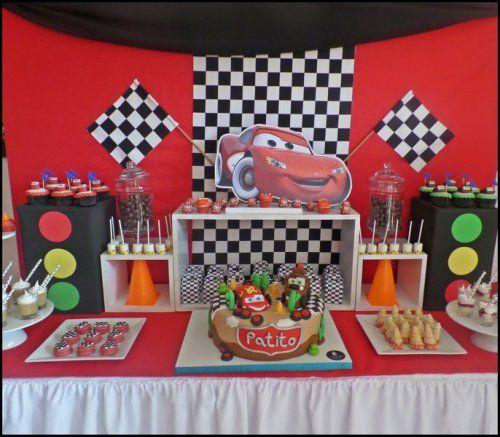 Candy Bar Cars Buscar Con Google Fiestas Cars
