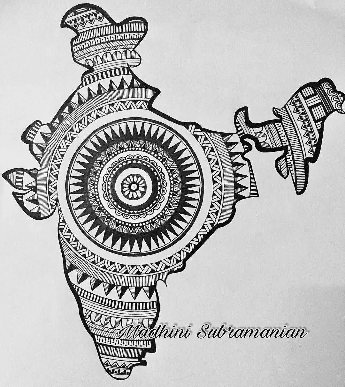 Pin by Aasavari Shinde on Art in 2020 Mandala art