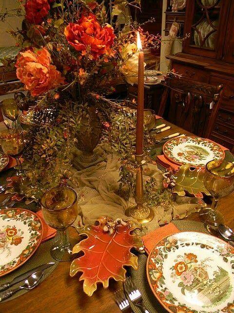 thanksgiving table setting - Thanksgiving Table Settings Pinterest