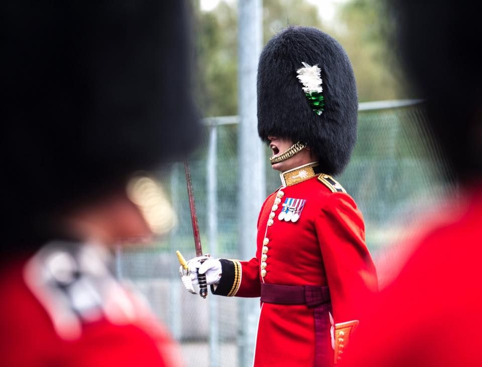 British Welsh Guards Officer 2017 Queens Guard Royal Guard Coldstream Guards