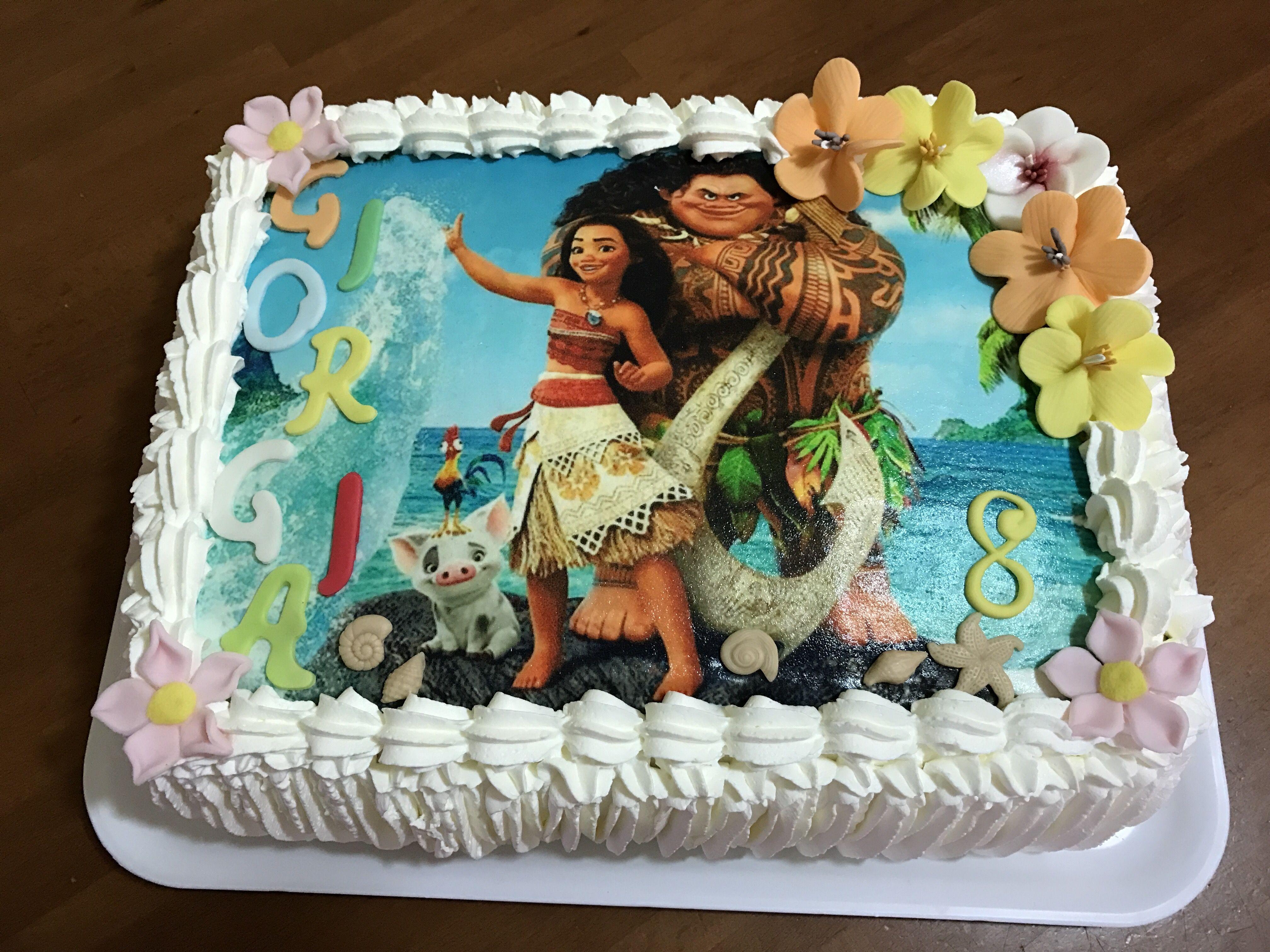 Oceania Cake Torta Oceania Cake In 2019 Pinterest Cake Moana