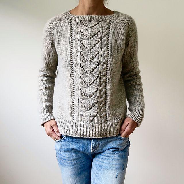 Avalanche pattern by Heidi Kirrmaier