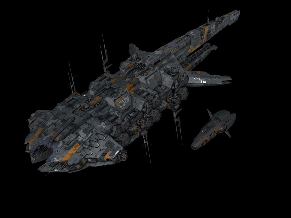 Drone carrier SEEDER painted by NovA29R.deviantart.com on ...