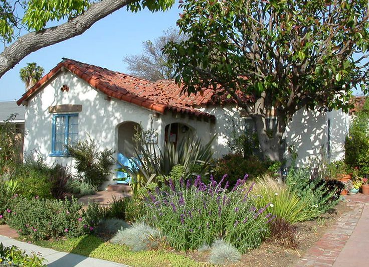 Southern California Front Yard Landscaping Ideas Part - 22: Raised Foundation Spanish Revival Front Yards - Google Search