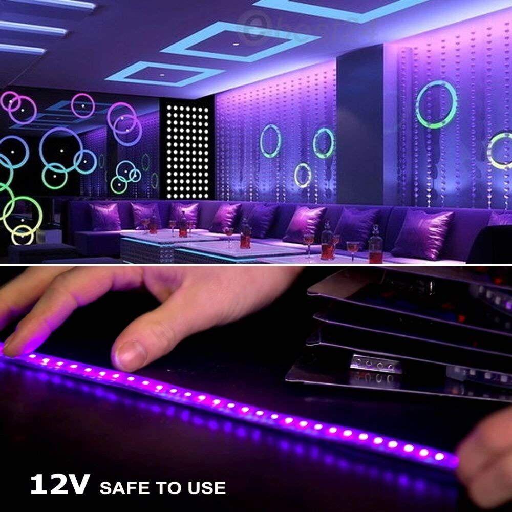 diy led light colors purple