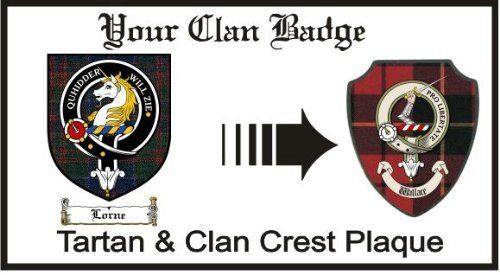Lorne Clan Stewart Appin Clan Badge Plaque . $29.99