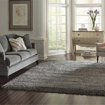 Thomasville Marketplace Luxury Shag Rugs Living Room Makeover