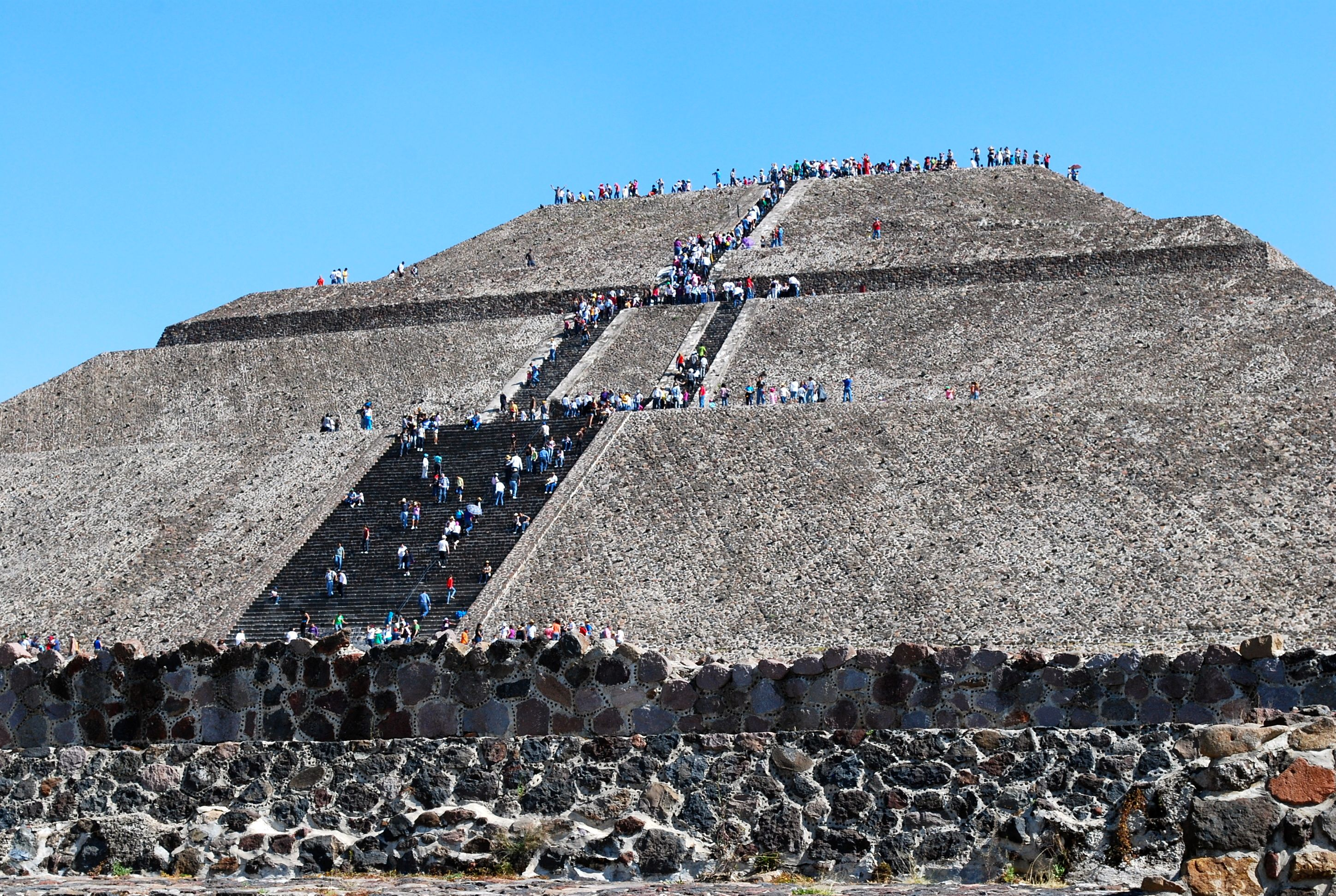 Pyramids of  Teotihuacán, Meixco city