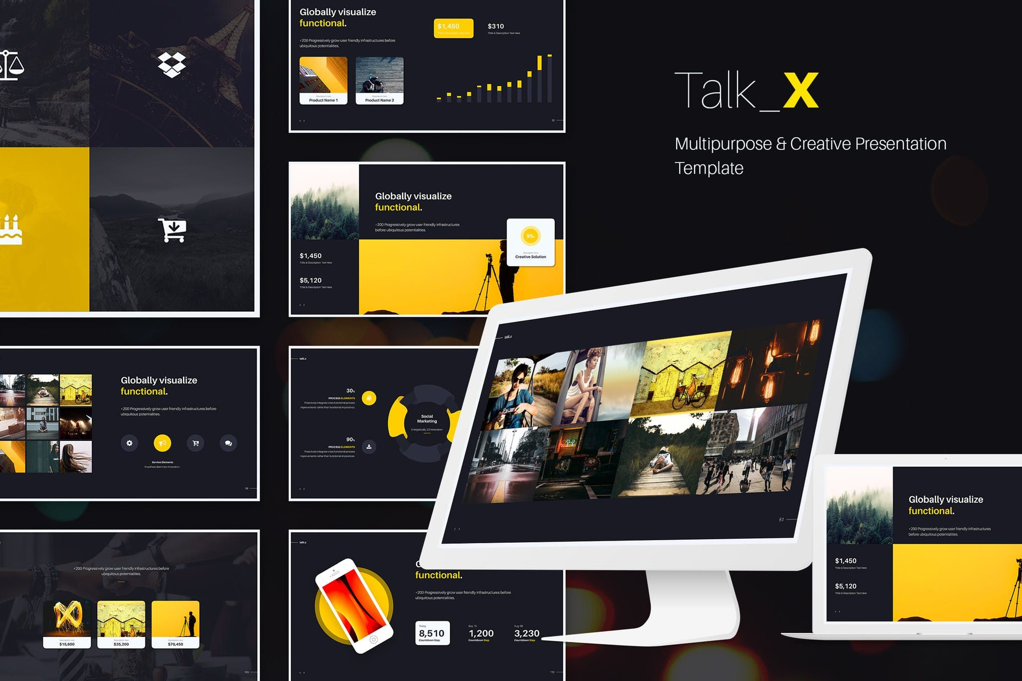 talkx multipurpose template powerpoint download here https