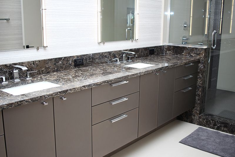 Glass Cabinet Doors Backpainted Glass Aluminum Frame Furniture