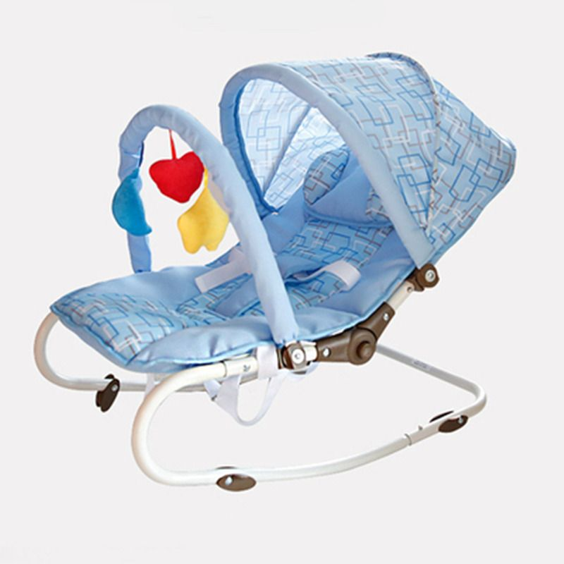 Fashion Portable Baby Rocking Chair Multi function Baby Swing Bed