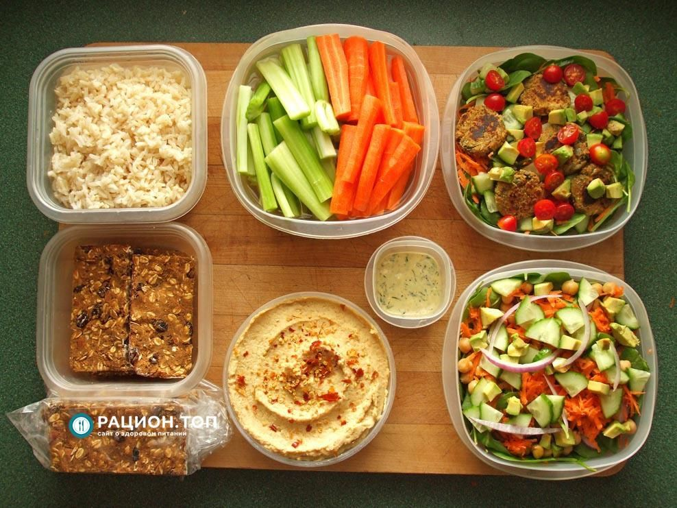 правильное здоровое питание для похудения