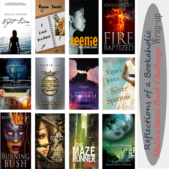 Reflections of a Bookaholic Multicultural YA reads