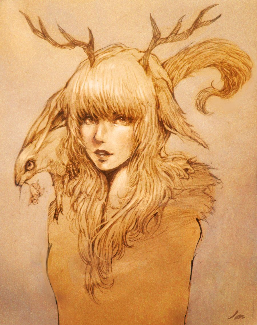 My Deer by jas-tham.deviantart.com on @deviantART