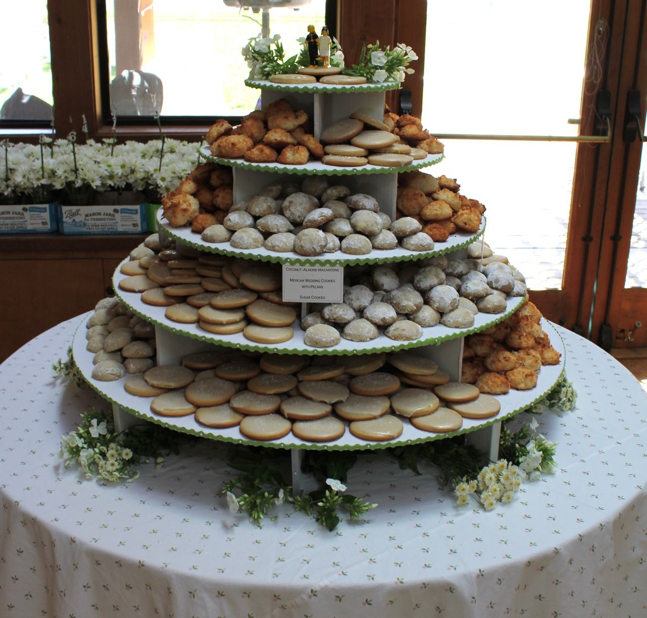 wedding cake cookie decorating ideas wedding cake alternatives cookies 4 jpg 1280 215 1223 22236