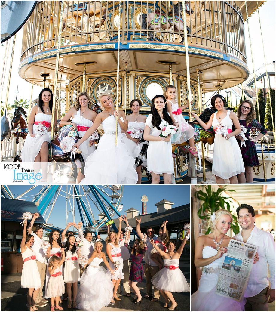 Summer and Luke Kemah Boardwalk Wedding on the Fantasea
