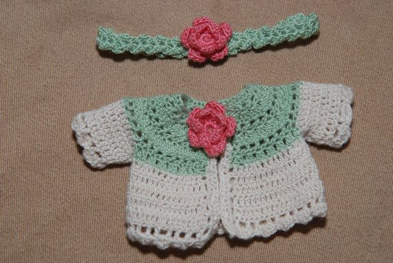 Sprocket Sweater and Headband set--fits Darak, Pia Macy, YoSD, Littlefee and LAsher baby