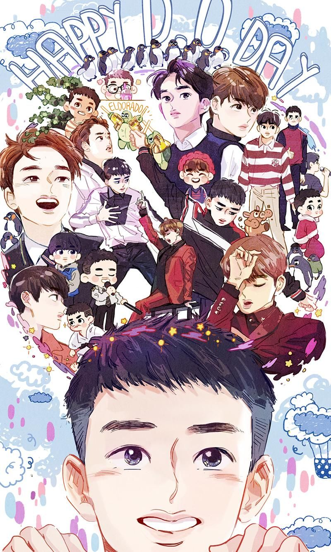 2016 D.O 's birthday exo d.o. EXO Pinterest Exo