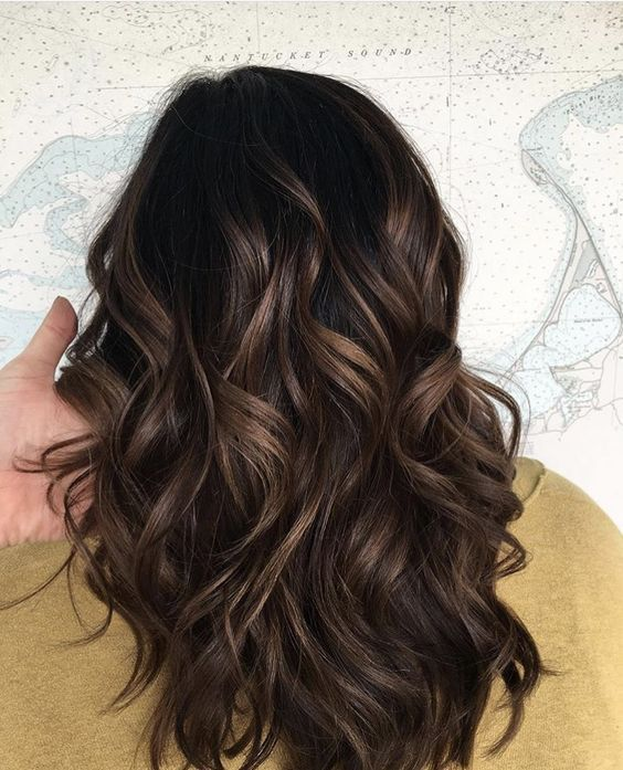 66 Subtle Balayage Brunette Hairstyles With Fall Winter Colors With Images Brown Hair Balayage Subtle Balayage Brunette Dark Brown Hair Balayage