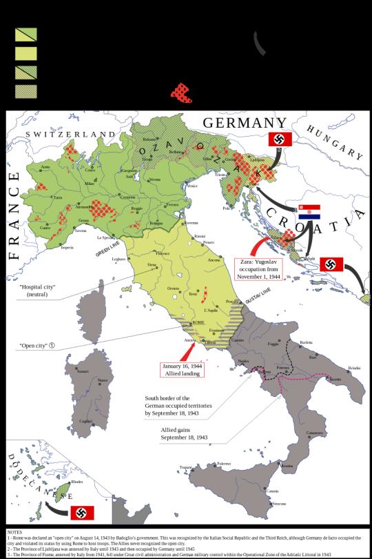 Sicily Two Map World War