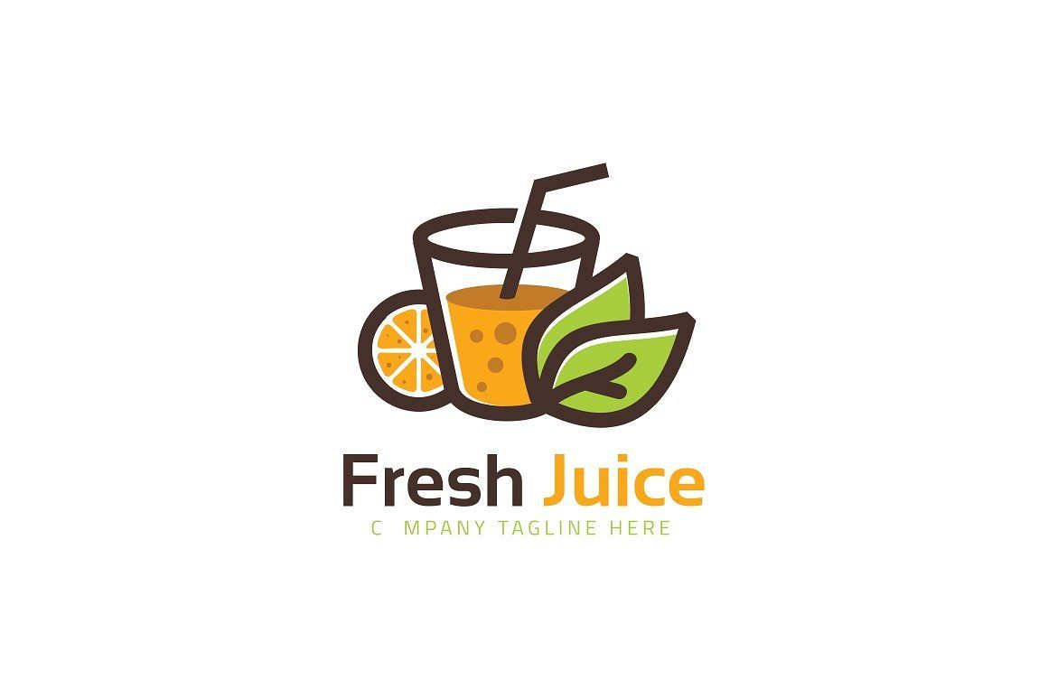 fresh juice logo template juice logo fruit logo drinks logo fresh juice logo template juice logo