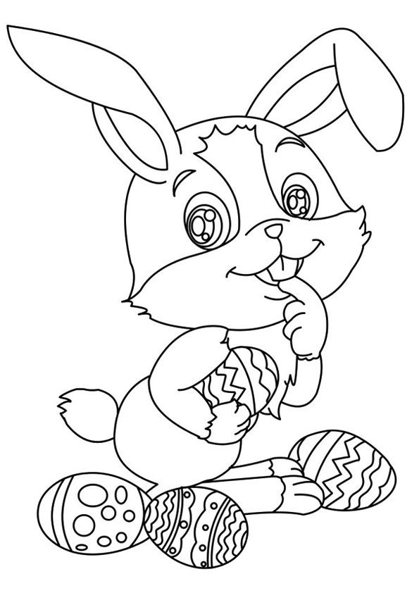 Print Coloring Image Momjunction A Community For Moms Bunny Coloring Pages Easter Bunny Colouring Farm Animal Coloring Pages