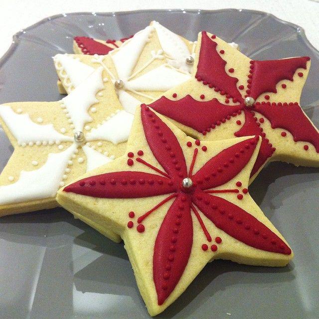 Galletas De Estrellas Navideñas Queques Y Mas Galletas