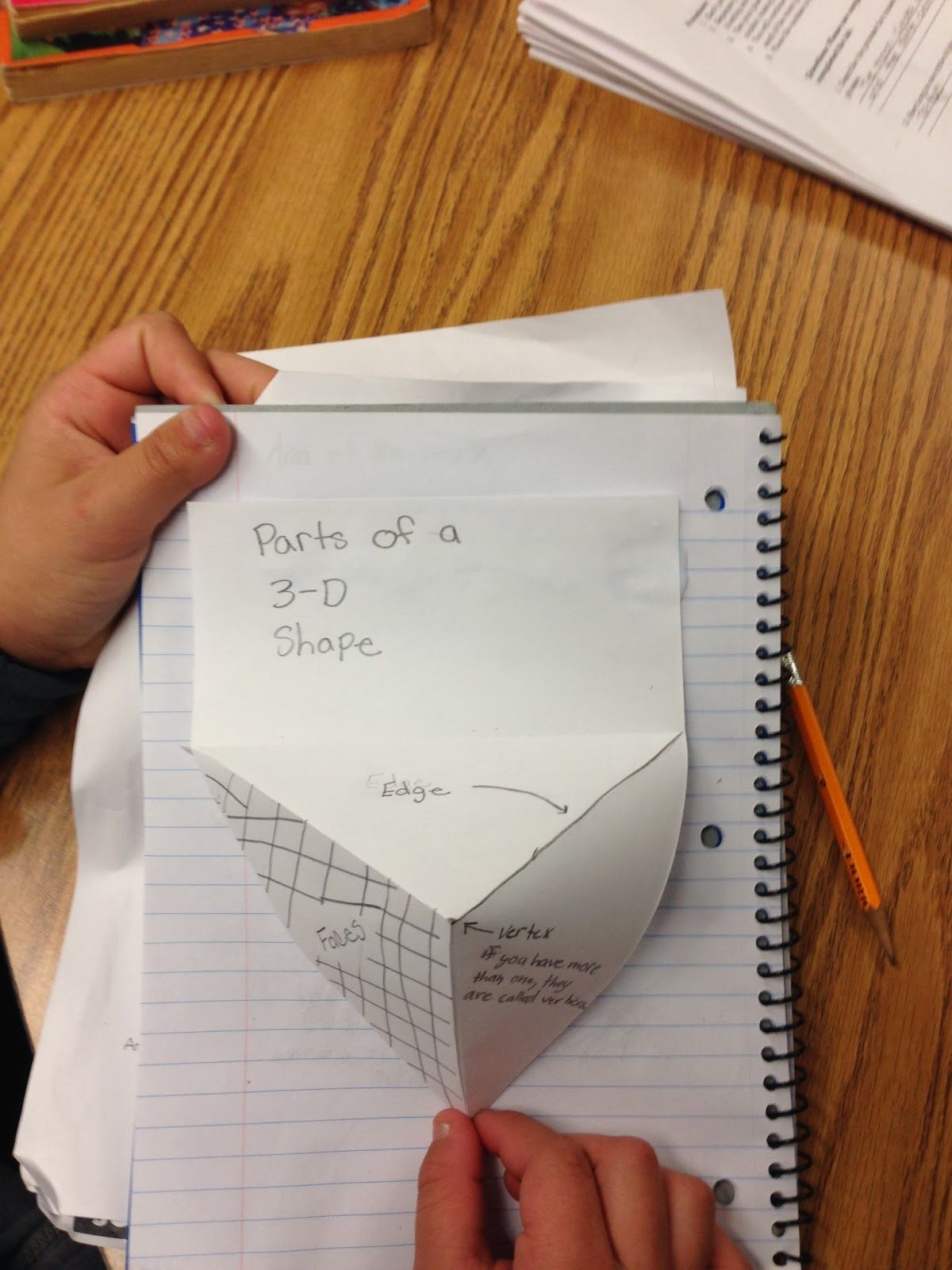 Classifying 3 D Shapes Using Interactive Math Notebooks