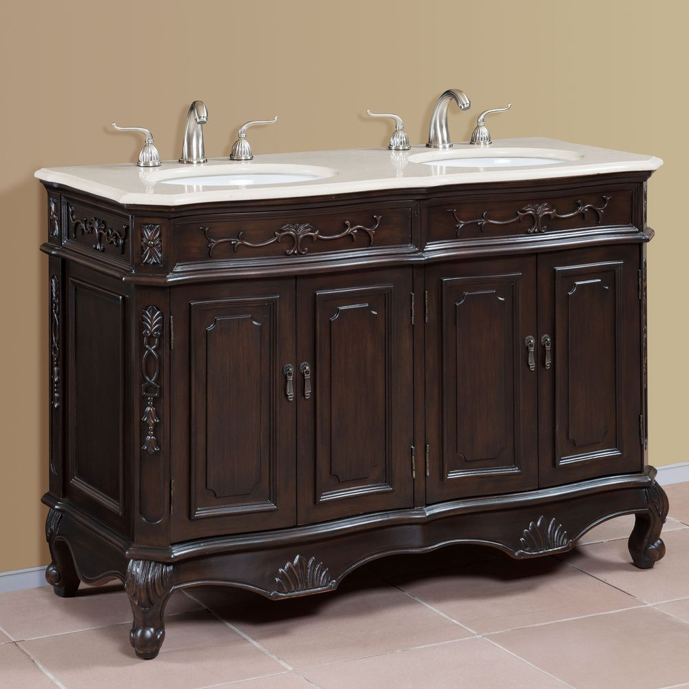 Our Best Bathroom Furniture Deals Traditional Bathroom Vanity Double Sink Bathroom Vanity Bathroom Vanity 50 inch double vanity