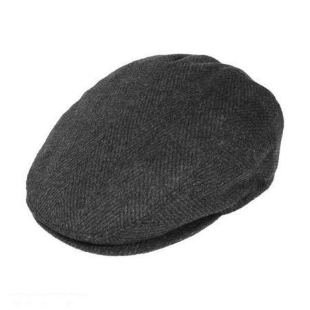 Large Herringbone Wool Blend Ivy Cap  d544889f9fe