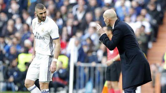 Real Madrid: El 'decreto Benzema' marca el paso del delicado momento de Zidane - Marca.com