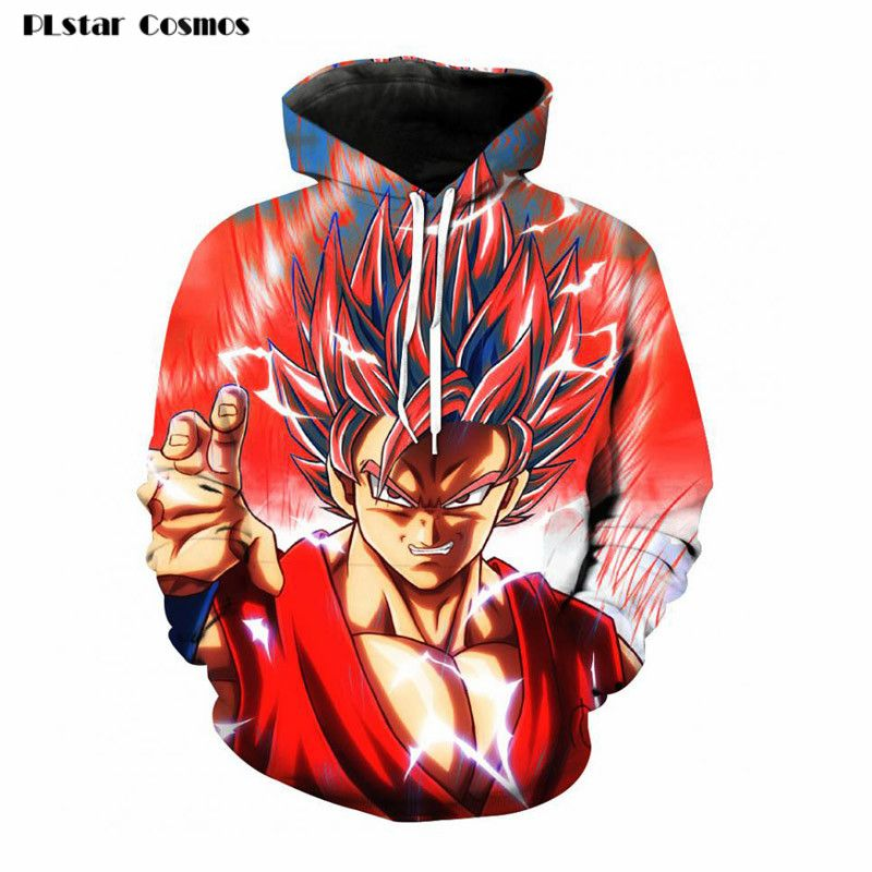 b27f16a786095 Dragon Ball Z Jacket Super Saiyan 3D Print Sweatshirt Hoodies Pullovers One  Piece Anime Goku Funny Cartoon hooded   Price   29.71   FREE Shipping       ...