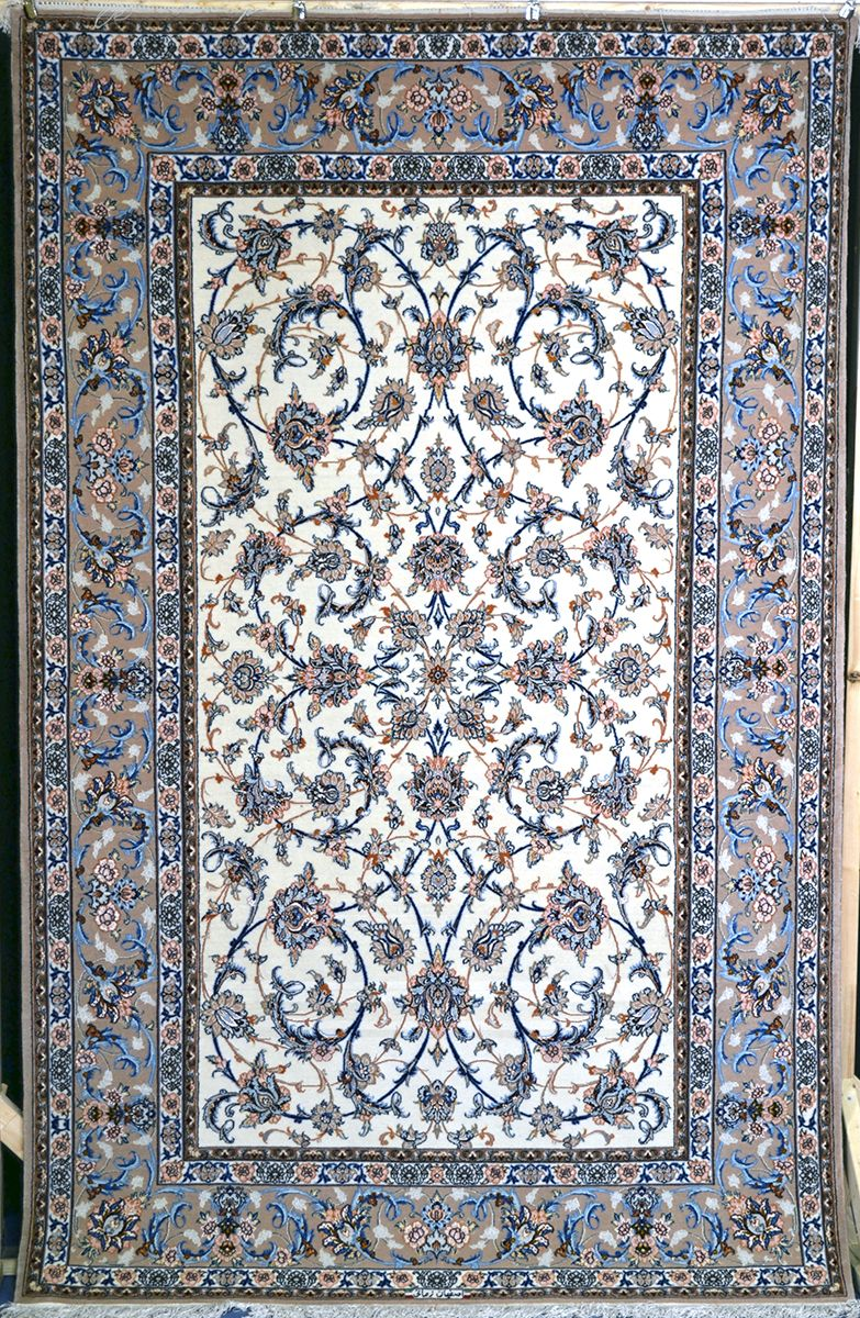 Isfahan Silk Persian Rug Exclusive Collection Of Rugs And Tableau Rugs Treasure Gallery Isfahan Silk Persian Rug You Pay 3 5 Tapetes Carpete E Tapete Persa