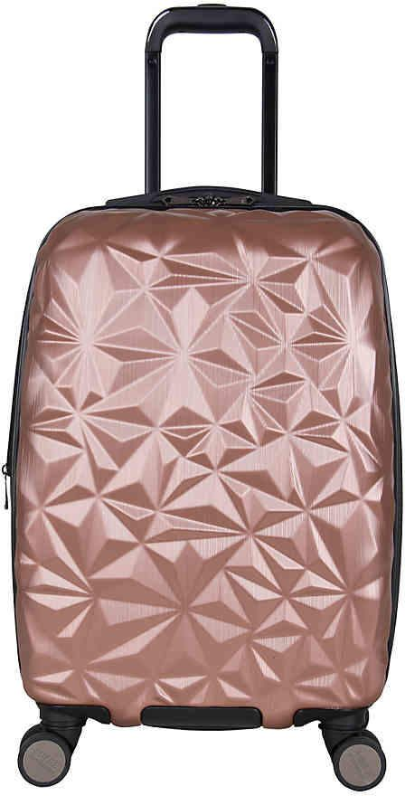 1aff15ac4 Aimee Kestenberg Geo Molded 20-Inch Carry-On Hard Shell Luggage - Women's  #handles#flexible#lifting