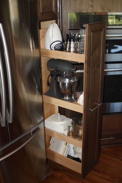Add To Ideabook By Innermost Cabinets By Innermost Cabinets Custom Cabinet  » Pullout Pantries Again Offer The Convenience Of Bringing The Stored Items  Into ...