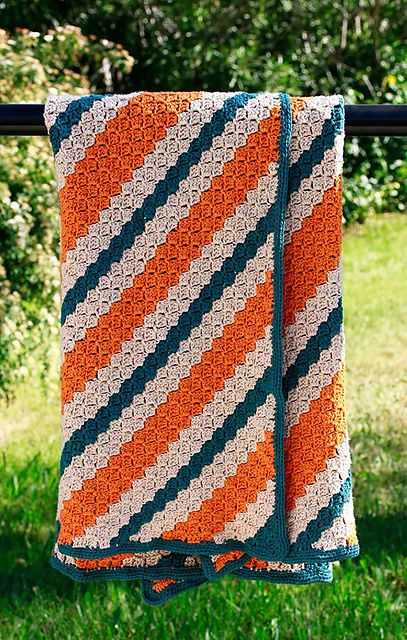 Sanatae's Gabe's Corner To Corner Rectangular Throw Crochet Magnificent C2c Crochet Pattern Rectangle
