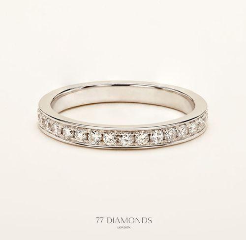 Channel Set Eternity Rings Eternity Ring Vintage Style Engagement Rings Rings