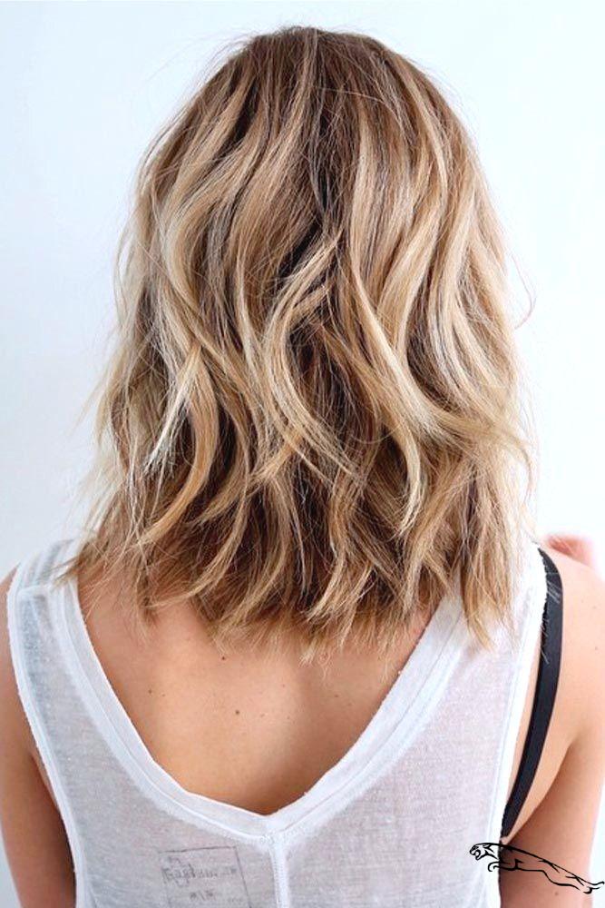 20 modische mittellange Frisuren für den Herbst – mittleres Haar Ideen #haarideen