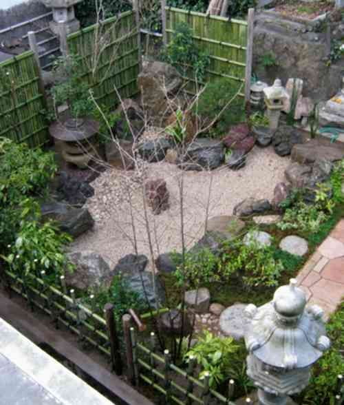 idée de jardin japonais moderne … | Garden Ideas | Small ...
