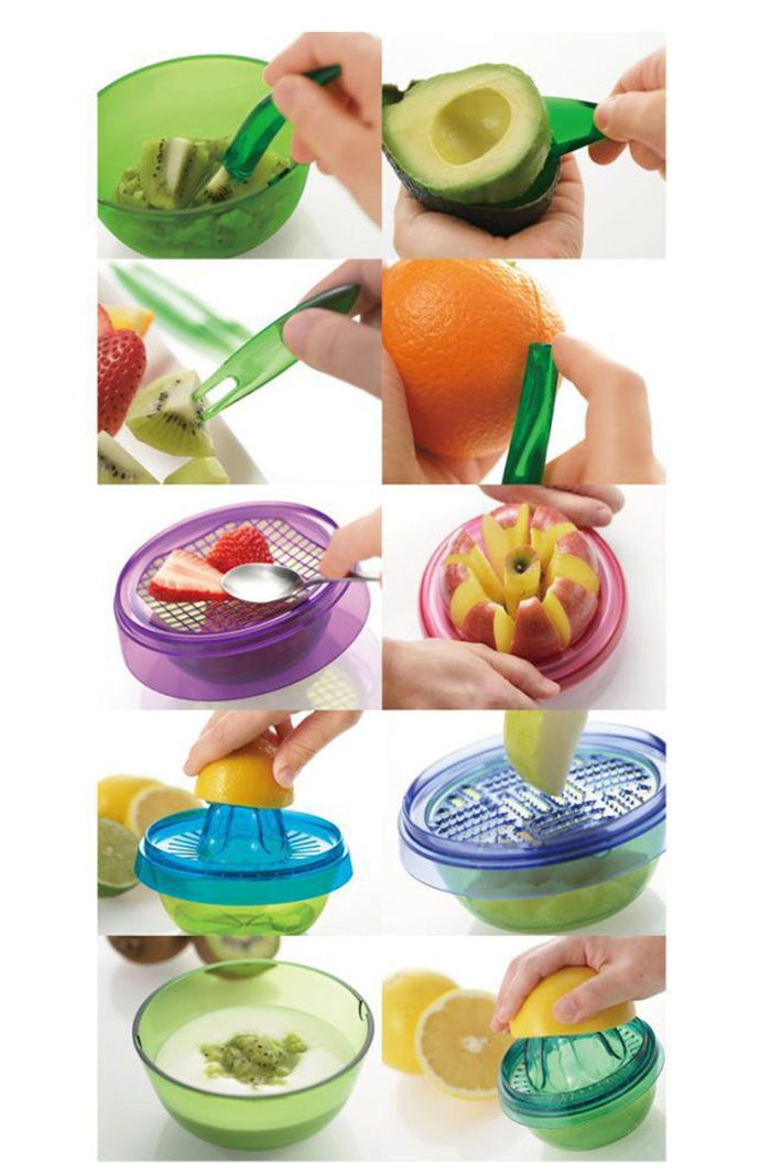 Portable Potting Shape Fruit Slicer Salad Tool Cooking Chopping Part-10.93 and Online Shopping | GearBest.com Mobile