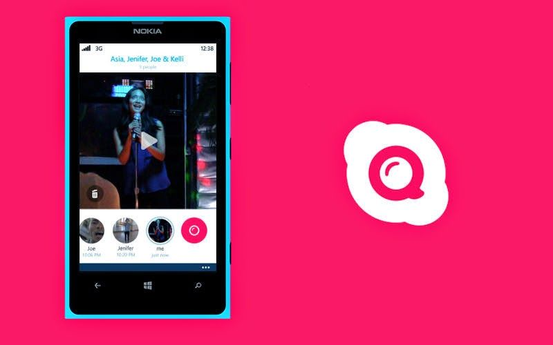 Skype Qik update for Android (With images) Messaging app