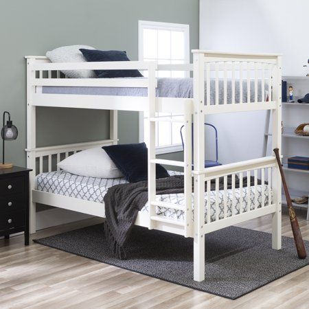 Bellmead Twin Over Twin Bunk Bed Bunk Beds Twin Bunk Beds Bunk
