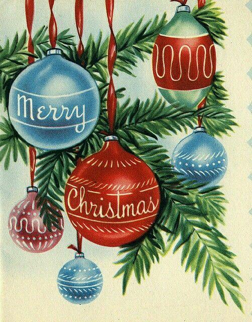 Wishin you a happy holiday Natal Pinterest Vintage
