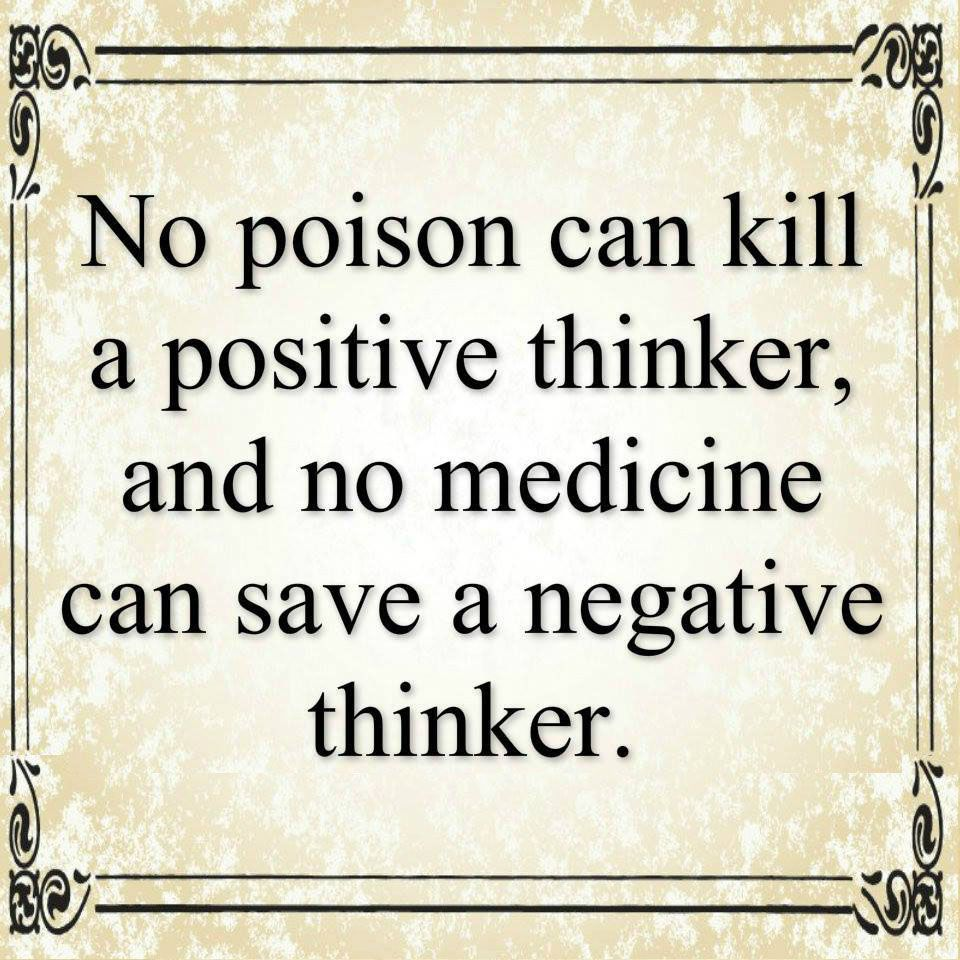 No Poison Can Kill A Positive