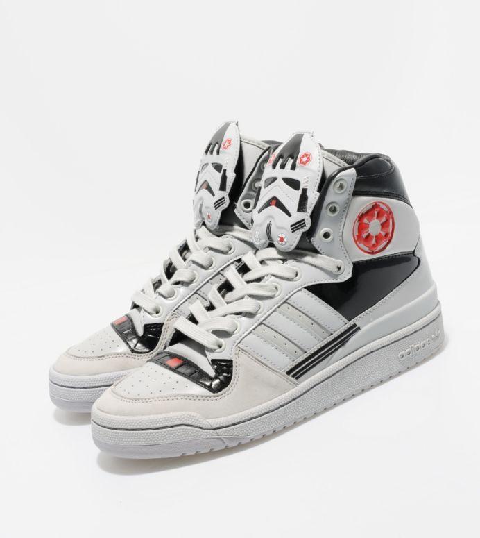 star wars Adidas originals, Sneakers, High top sneakers